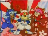 samurai pizza cats English dub Episode 01 Full HD