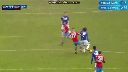 SAMPDORIA - NAPOLI 0-1 HIGUAIN