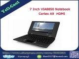 New Sale Cheap 7 inch VIA 8850 Mini Notebook Laptop Android 4.0 system 512M 4G Android Notebook laptop Webcam 800*480 Pixels-in Tablet PCs from Computer