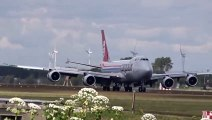 Cargolux - Boeing 747-8 F - Crosswind landing at AMS Schiphol (LX-VCD) Big Planes