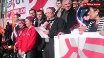 Brest. CMB Arkéa : 10.000 manifestants refusent la réforme de centralisation