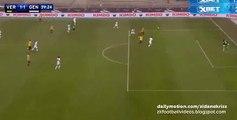 Goal Giampaolo Pazzini - Hellas Verona 1-1 Genoa 24.01.2016 HD