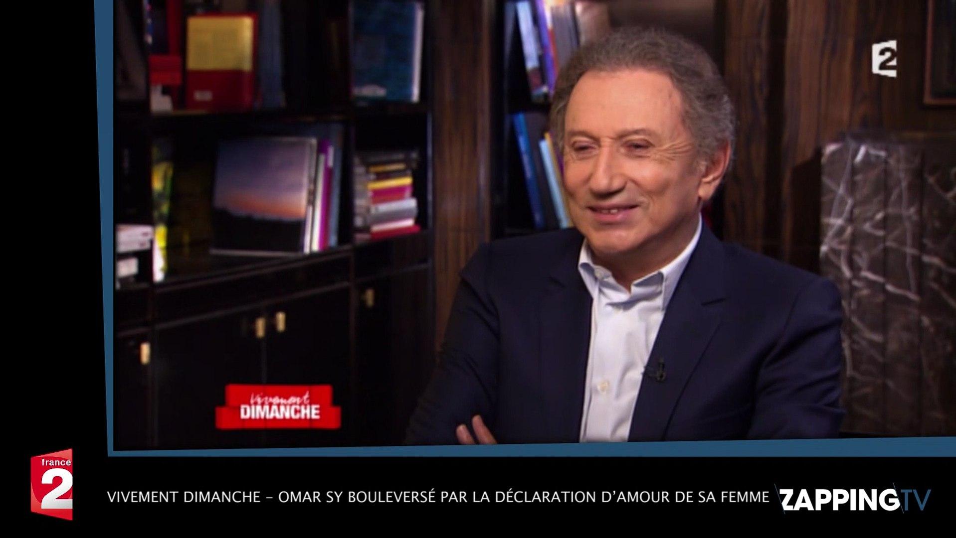 Vivement Dimanche Omar Sy Bouleversé Par La Déclaration Damour De Sa Femme Vidéo