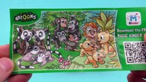 5 Kinder Surprise Eggs - Kinder Überraschung Maxi, Minions, Kinder Toys, Polly Pocket Toys