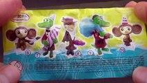 3 Surprise Eggs - Donald Duck, Crocodile Gena and Cheburashka, Planes: Fire & Rescue