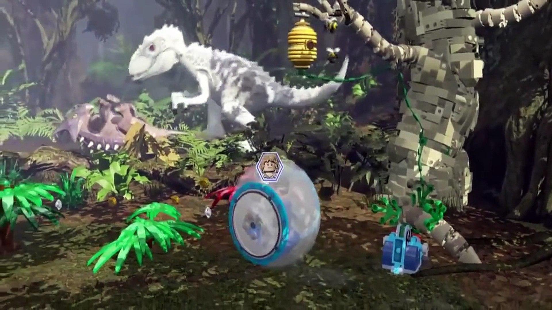 Jurassic World - Jurassic Park LEGO Dinosaur For Kids and Children (Game Moives)