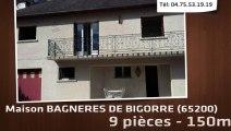 A vendre - Maison - BAGNERES DE BIGORRE (65200) - 9 pièces - 150m²