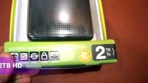 Unboxing Western Digital WD My Passport 2TB Portable Hard Drive HDD Ultra Fast USB 3.0 pow