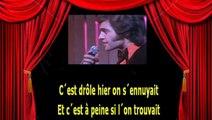 Karaoké Joe Dassin - Salut les amoureux