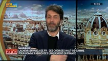 Le web de luxe: Lachemisefrancaise.fr propose des chemises homme haut de gamme et 100% made in France - 24/01