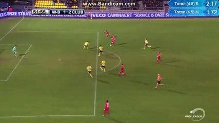 Waasland-Beveren - Club Brugge K.V. 1-2 VOSSEN
