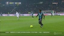 Georges-Kevin N'Koudou Super Chance - Lyon v. Olympique Marseille 24.01.2016 HD