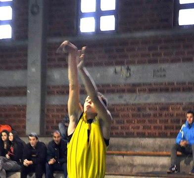 Ivan Miljković br 5, trojka za +3 - KK Foka - KK Kragujevac 96 (+3)