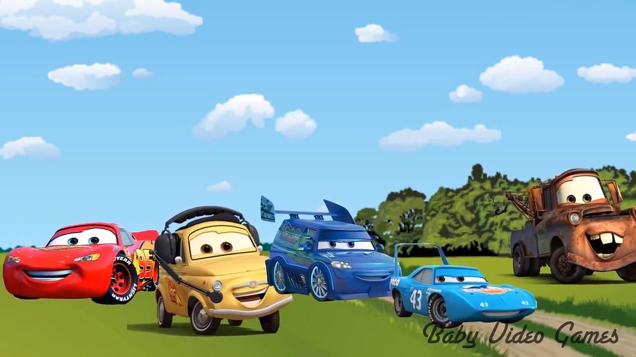 Finger Family Cars Cars Cartoon Movie for Children Cars Songs