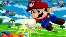 Super Mario vs Goku | Super Mario Meets Dragon Ball Z | DBZ Tenkaichi 3 (MOD)