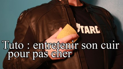 Pour Cuir TutoNettoyer Cher Le Son Pas Motarologue sQrdCthx