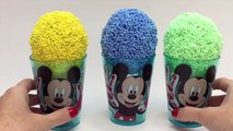 Mickey Mous Surpris Egg Mickey Mous Ic Cream Minni Mous Disney Angry Bird SpongeBo Eggs