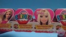 Opening a Valentine' Kinde Surpris Egg Barbi Train! And a Disney Frozen Kinde Surpris Egg!