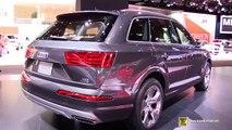 2016 Audi Q7 TDI Quattro - Exterior and Interior Walkaround - Debut at 2015 Detroit Auto Show