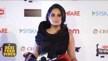 Richa Chadda at 61st Filmfare Awards 2016   Bollywood Filmfare Awards 2016