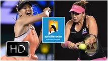 Maria Sharapova vs. Belinda Bencic   2016 Australian Open Fourth Round   Highlights HD