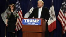 SNL Calls In Tina Fey To Poke Fun at Sarah Palin and Donald Trump