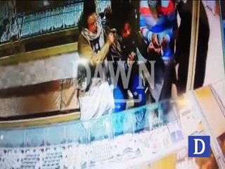 CCTV footage of Robbery in Faisalabad