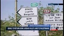 Israel to return some Jordan valley land to Palestinians