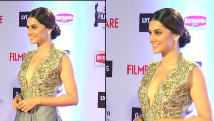 Taapsee Pannu Back Show At Filmare Awards 2016