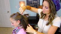 beautifull hair style  amazing pony hair style Double French into High Pony - beauty tips for girls