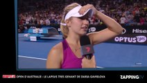 """Open d'Australie : La révélation """"très coquine"""" d'une joueuse après un match fait le buzz (Vidéo)"""