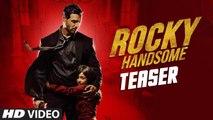 ROCKY HANDSOME 2016 HD Official Teaser - John Abraham, Shruti Haasan