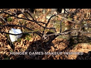 Hunger games makeup inspired