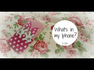 WHAT'S IN MY IPHONE - 6 Plus | Stefy Arrighi ❤