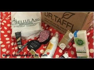 Haul: Libellula Bio & Dr. Taffi   Stefy Arrighi ❤
