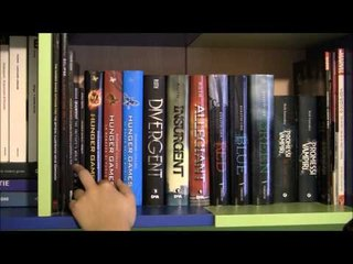 Bookshelf tour 2015