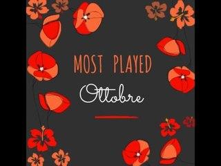 MOST PLAYED di OTTOBRE ♥ I prodotti più utilizzati del mese!