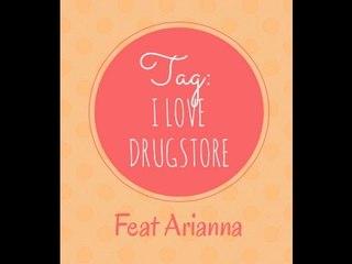 TAG : I LOVE DRUGSTORE ♥  || In Collaborazione con ARIANNA