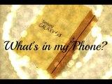 ✿ What's in my Phone? Samsung Galaxy S5 (Cosa c'è nel mio cellulare?) più una bellissima novità!!! ✿