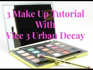 3 Make up tutorial with VICE 3 Urban Decay |Bea'sWorld
