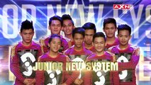 Grand Finals Crowd Flips For Junior New System | Asia's Got Talent Grand Final 1