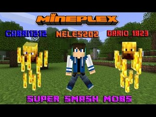 Super Smash Mobs w/ DARIO_1823 &neles202    Minecraft #7