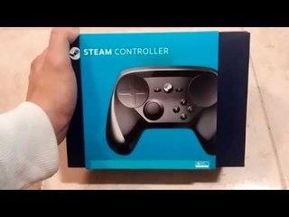 Unboxing Steam Controller [ITA] Anteprima mondiale!