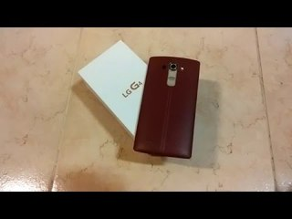 Lg G4 (rosso) - Unboxing e prime impressioni [ITA]