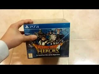 Unboxing Dragon Quest Heroes Slime Collector's Edition Ps4 [ITA]