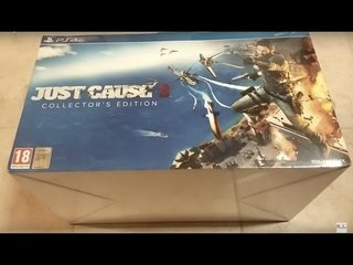 Unboxing Just Cause 3 Collector's Edition Ps4 [ITA]