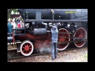 Treno Storico a Vapore in occasione del Centenario a Besana Brianza - 1a parte