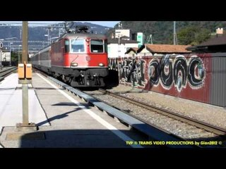 Maroggia Melano: trains on the lake - part 1