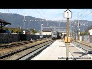 Freight trains on the lake at Maroggia-Melano - part 2