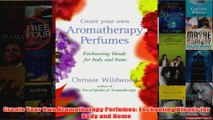 Download PDF  Create Your Own Aromatherapy Perfumes Enchanting Blends for Body and Home FULL FREE